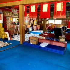 Meditation Room Halfway Cleaned