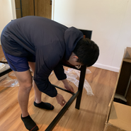 Setting up the bed frame