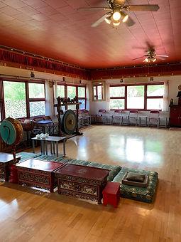 Orgyen Cho Dzong Retreat's Temple