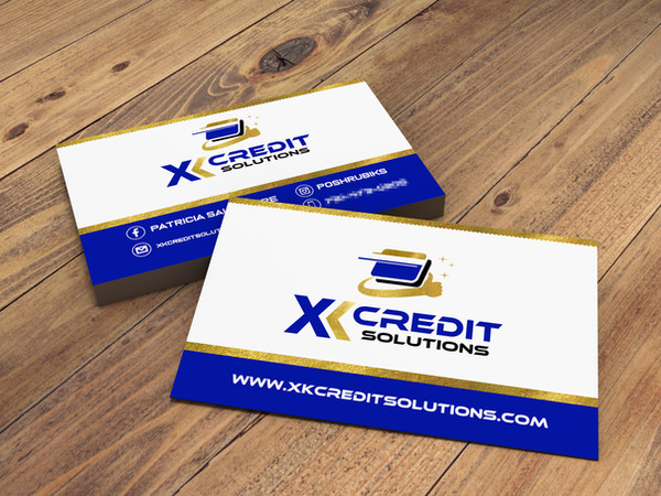 XKCS BUSINESS CARD MOCK UP