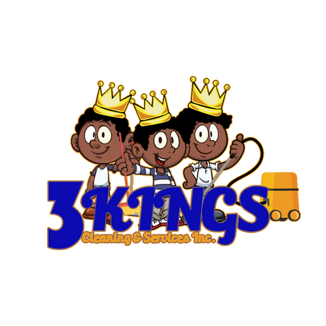3 KINGS CLEANING AND SERVICES COMPANY LOGO