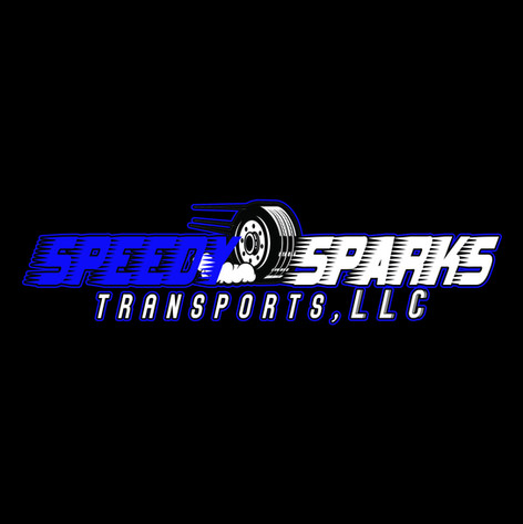 SPEEDY SPARKS TRANSPORTS LOGO