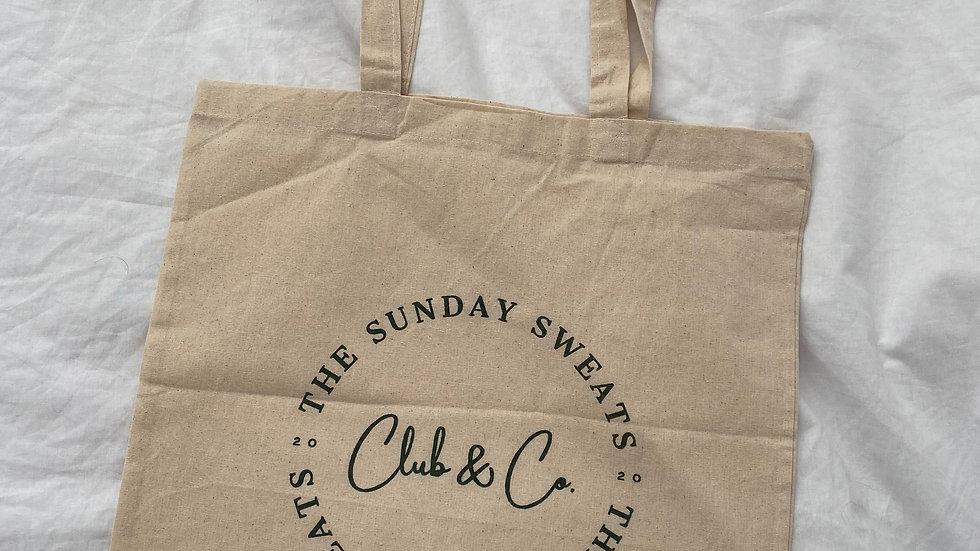 The Sunday Sweats Club & Co. Tote Shopper Bag