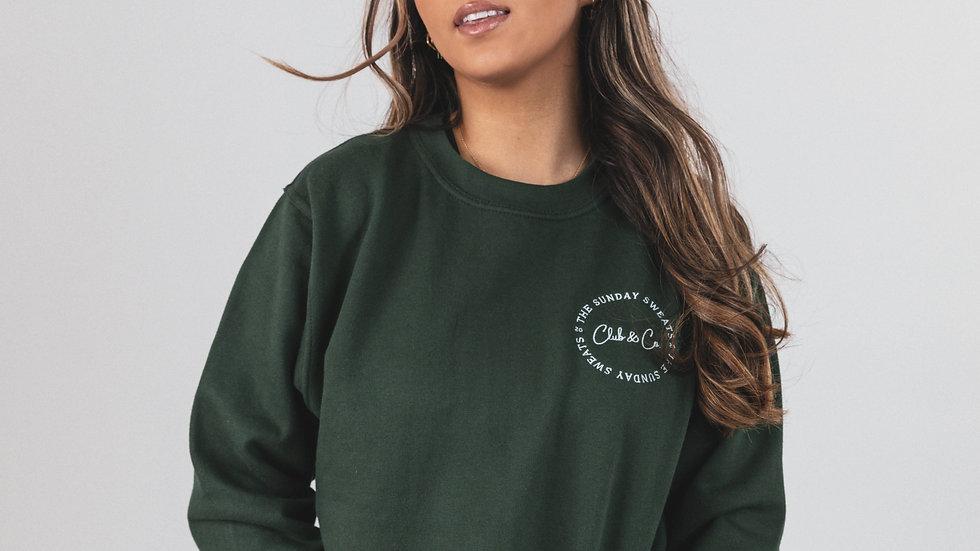 The Sunday Sweats Club & Co. Green Jumper