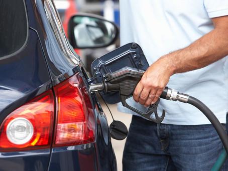 Filling up at the pump…