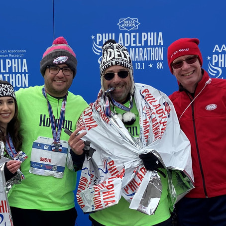 2019 Philly 8k reflections...