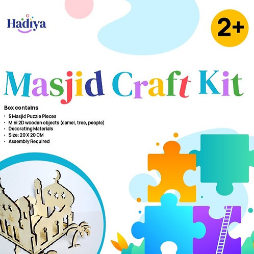 Masjid Craft Kit