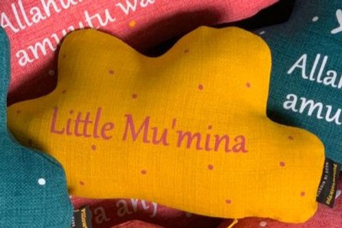 Little Mu'mina Cloud Pillow