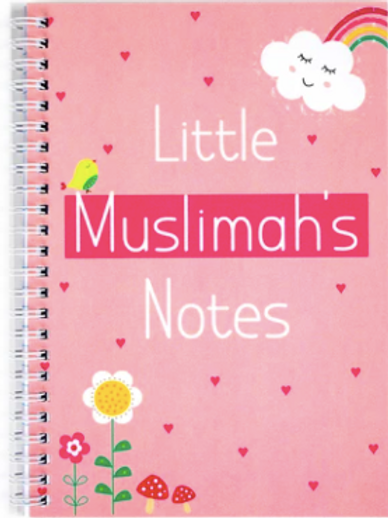 Wire Notebook : Little Muslimah's Notes