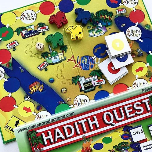 Hadith Quest - Family Board Game