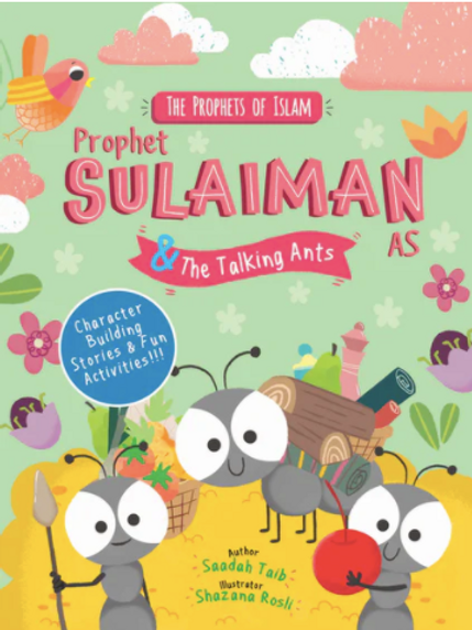 Prophet Sulaiman and the Talking ants - Activity Book