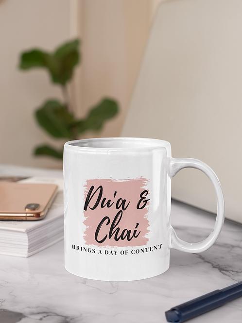 Du'a and Chai Mug