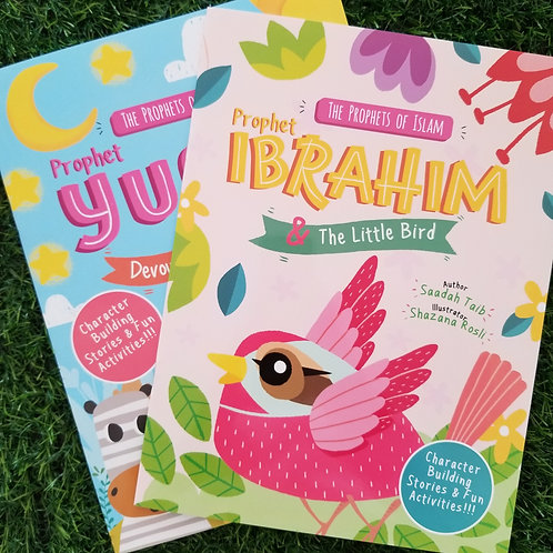Prophet Ibrahim (AS) and the Little Bird Activity Book