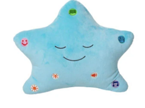 MY STAR DUA  PILLOW - BLUE