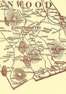 Carte de 1858