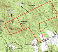 Noyes Mountain Map