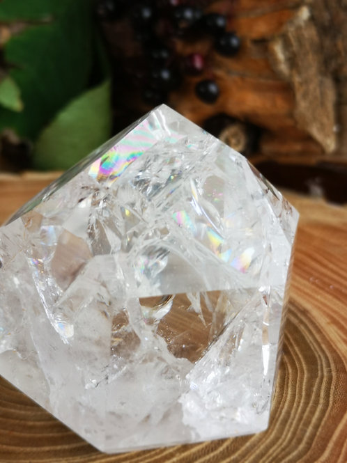 Fire & Ice of Regenboog kristal