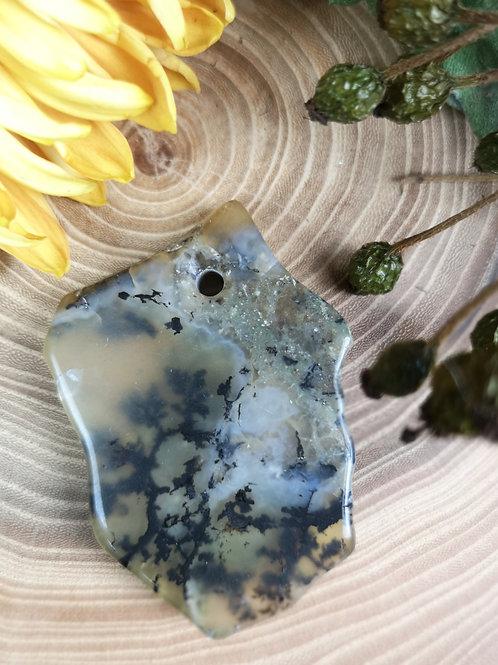 Dendriet Opaal hanger
