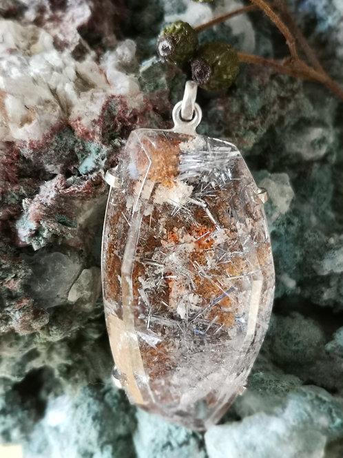 Bergkristal met Titanium