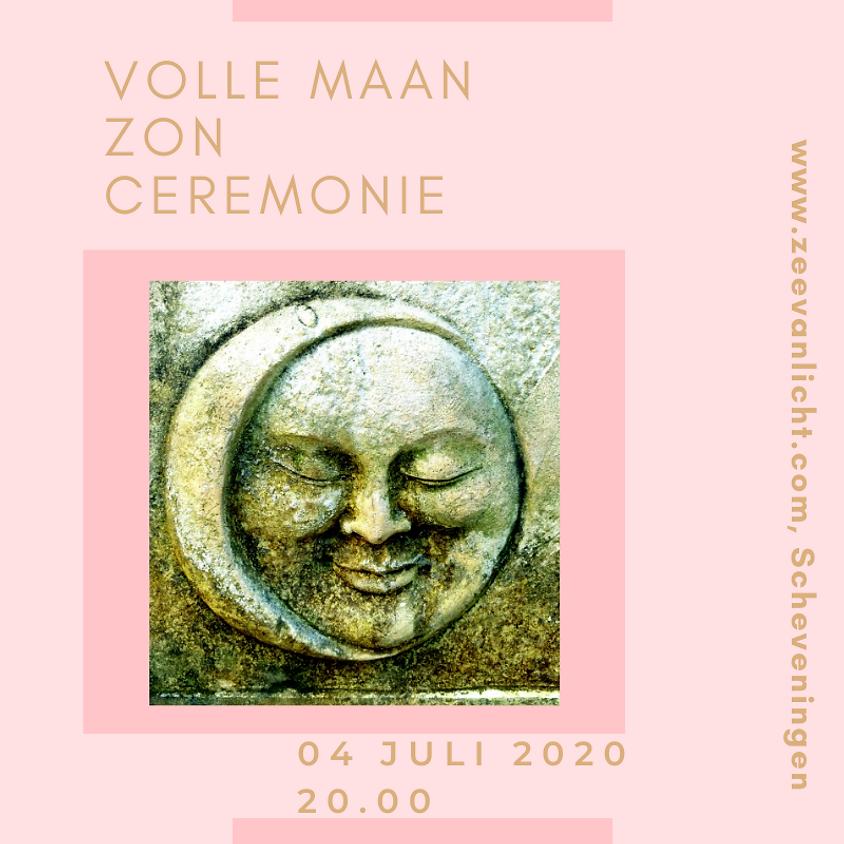 Volle Maan Zon ceremonie