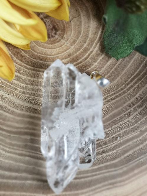 Bergkristal cluster hanger