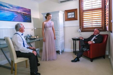 Grande Chalet - Bridal Photos - Cooks Hill Chalets