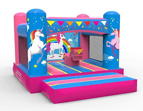 FunHQ Unicorn Bouncy Castle