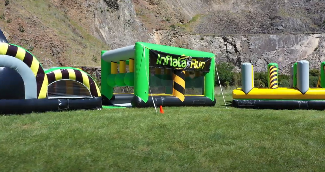 InflataRun @ Halswell Quarry