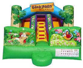 FunHQ Backyard Dual Slide