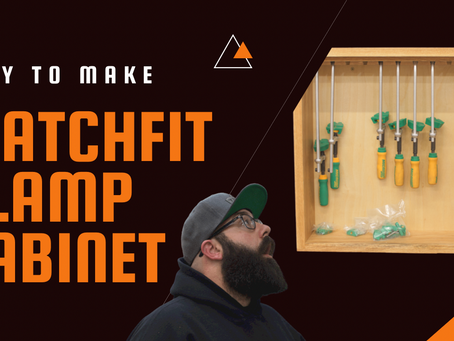 Easy To Build MatchFit Clamp Storage
