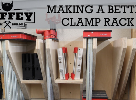 Minimal Tool Build Clamp Rack (with free plans brought to you by Bessey!)