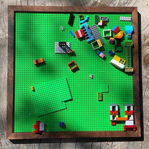 Large Hardwood Lego Tray