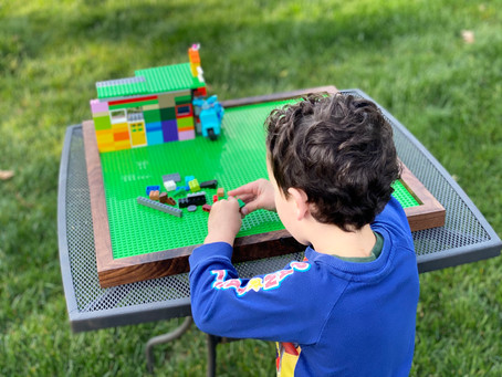 Easy Lego Tray (with free plans!)