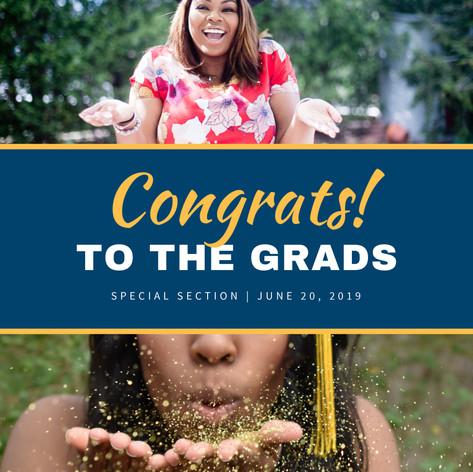 Graduate Tabloid Cover (The STL American Newspaper)