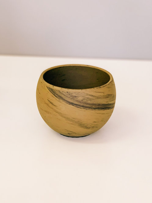 Brown Trend Pot 4""