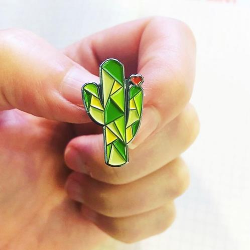 Cactus Love Pin