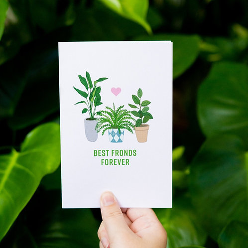Best Fronds Forever Card