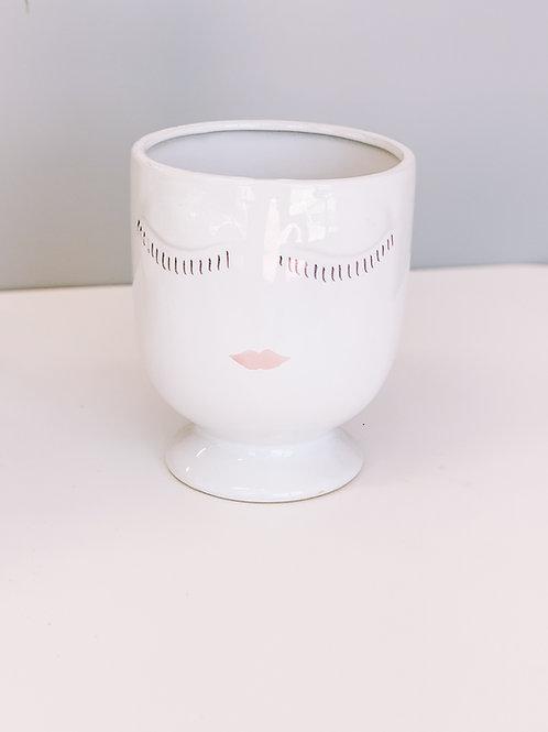 """Lady Face Pot 4"""""""