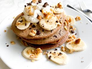 The Ultimate Chocolate Oatmeal Pancakes!