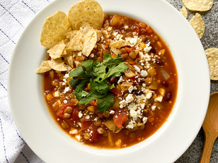 Sweet and Savoury Lentil Chilli