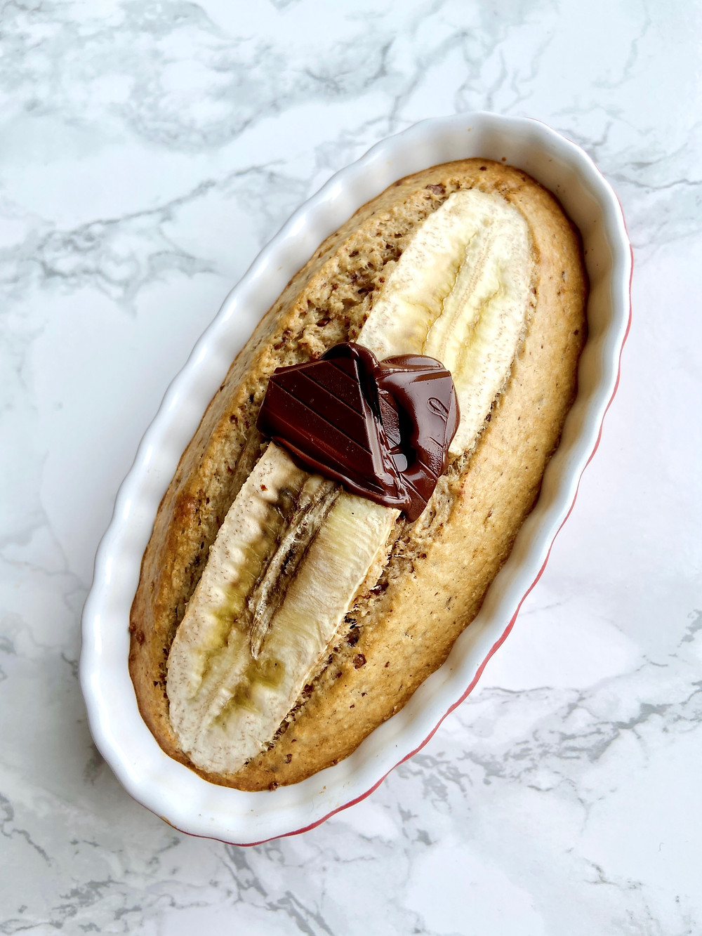 Peanut Butter & Banana Baked Oatmeal