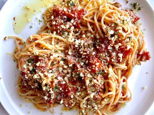 Vegan Mushroom Ragu Pasta