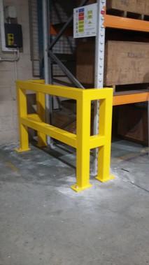Commercial saftey barrier