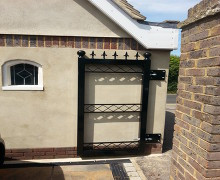 Residential personal access gate