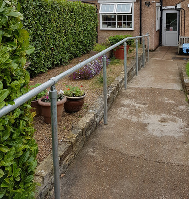Kee Clamp System Handrail