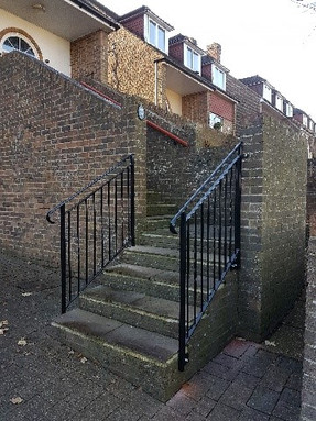 Bespoke double handrail and balustrade