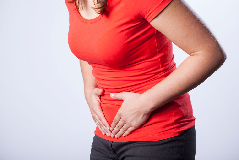 Food Sensitivity symptoms can include can include gas/bloating, diarrhoea & stomach cramping.