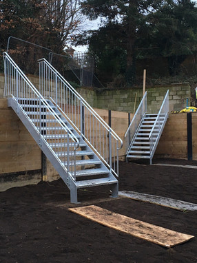 External Staircase Installation