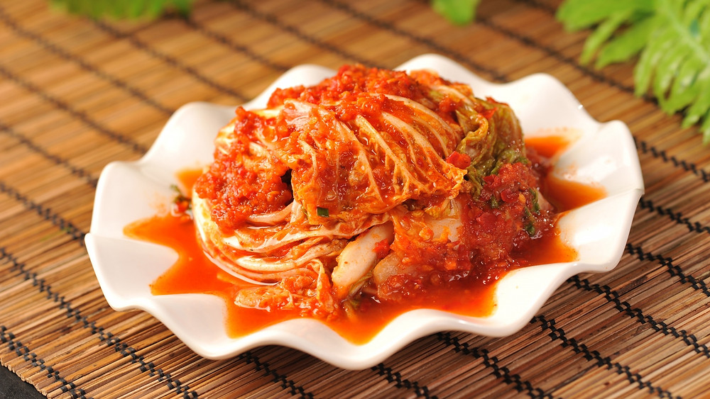 Kimchi is a great source of friendly bacteria