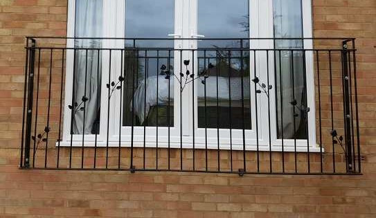 Residential ornate juliette balcony